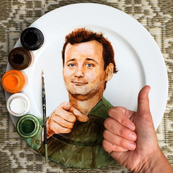 Adorable_Portraits_of_Famous_Movie_Characters_Painted_on_Plates_by_Jacqueline_Poirier_2015_08