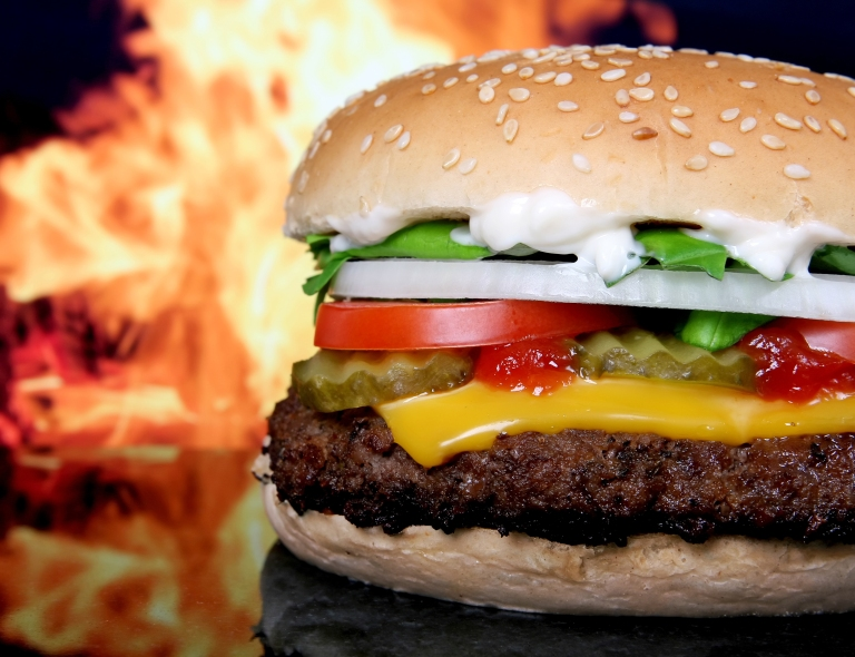 Delicious-HD-Flaming-Cheeseburger